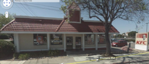 KFC before construction, taken from Google StreetView.