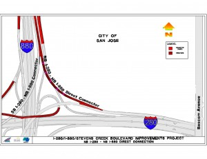 Changes to the I-280 / I-880 connector