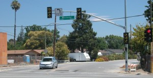 The new traffic lights for Williams Road drivers