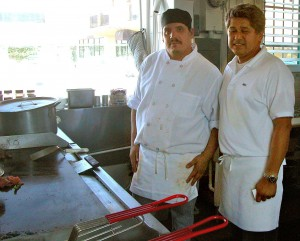 Co-owners Marvin Castro and Hector Plascencia