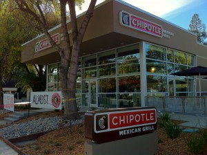 New Chipotle on South Winchester